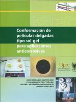 Cubierta para Conformación de películas delgadas tipo sol-gel para aplicaciones anticorrosivas