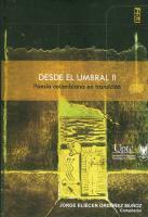 Cubierta para Desde el umbral II: poesía colombiana en transición