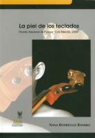"""Cubierta para La piel de los teclados: Premio Nacional de Poesía """"Ciro Mendía, 2008"""""""