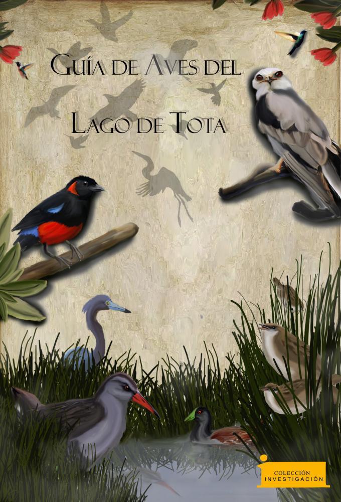 Cubierta para Guía de Aves del Lago de Tota