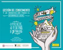 Cubierta para Gestión del conocimiento y la innovación para el desarrollo local: Experiencias y resultados en 7 municipios de Boyacá