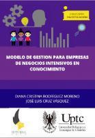 Cubierta para Modelo de gestión para empresas de servicios intensivos en conocimiento