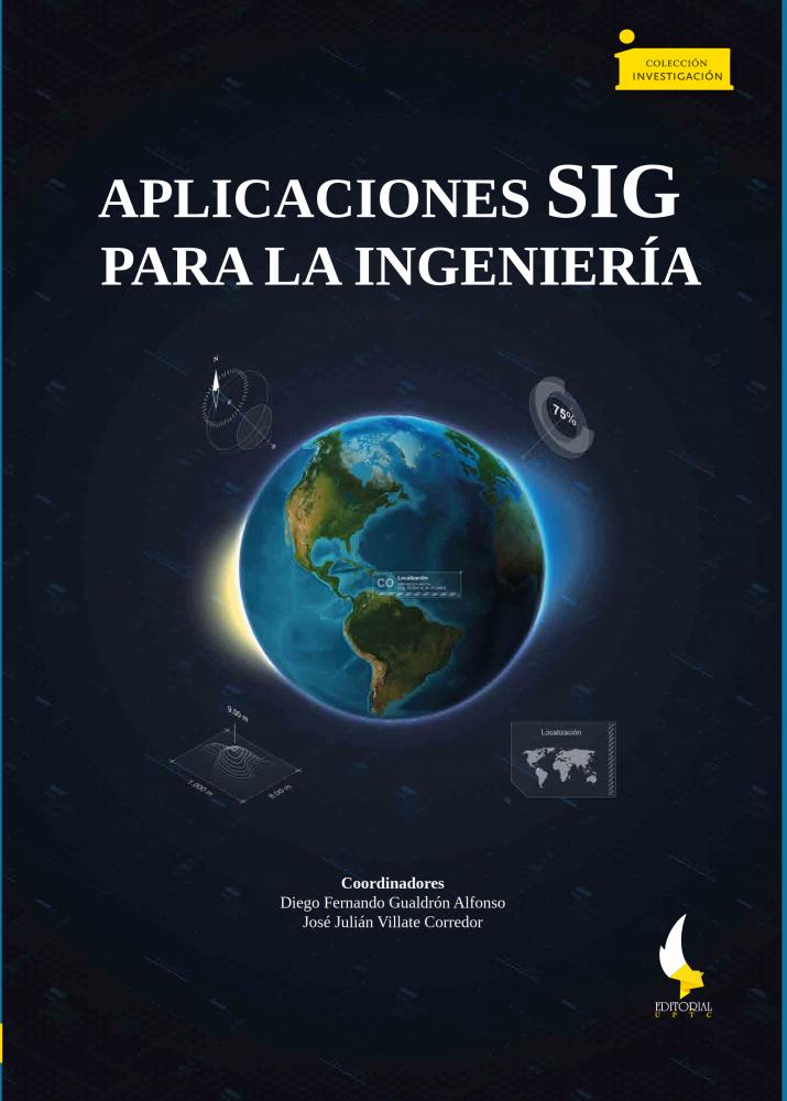 Cubierta para Aplicaciones SIG para la ingeniería / GIS applications for engineering