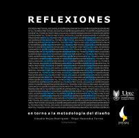 Cubierta para Reflexiones III: Entorno a la metodología del diseño