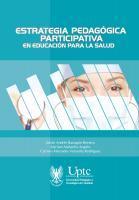 Cubierta para Estrategia pedagógica participativa en educación para la salud
