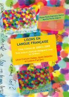 Cubierta para LISONS EN LANGUE FRANÇAISE: Cinq Contes de 2000 à 2009