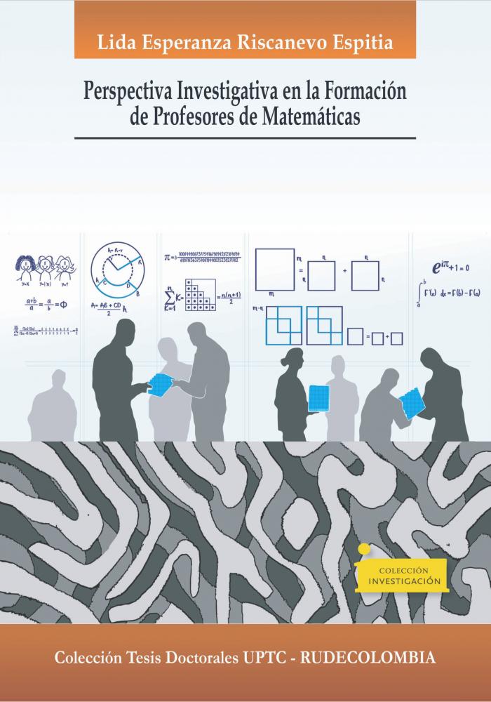 Cubierta para Una perspectiva investigativa en la formación de profesores de matemáticas
