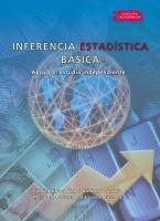 Cubierta para Inferencia estadística básica: Apoyo al estudio independiente