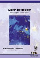 Cubierta para Martin Heidegger: Pensador para nuestro tiempo