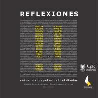 Cubierta para Reflexiones II entorno al papel social del diseño