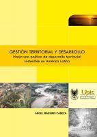 Cubierta para Gestión territorial y desarrollo: Hacia una política de desarrollo territorial sostenible en América Latina