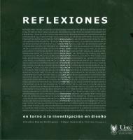 Cubierta para Reflexiones I: en torno a la investigación en diseño