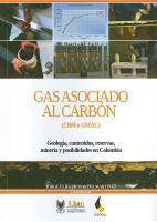 Cubierta para Gas asociado al carbón (CBM o GMAC): Geología, contenidos, reservas, minería y posibilidades en Colombia
