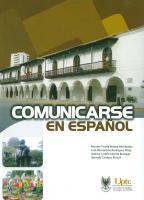 Cubierta para Comunicarse en español: la mejor opción - Nivel Avanzado