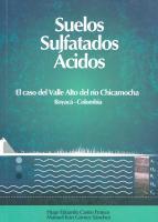 Cubierta para Suelos Sulfatados Ácidos: El caso del Valle Alto del río Chicamocha Boyacá- Colombia