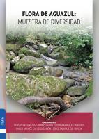 Cubierta para Flora de Aguazul: muestra de diversidad