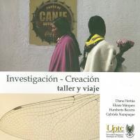 Cubierta para Investigación - Creación: taller y viaje