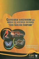 """Cubierta para Catálogo ilustrado del Museo de Historia Natural """"Luis Gonzalo Andrade"""""""