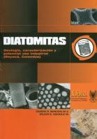 Cubierta para DIATOMITAS: Geología, caracterización y potencial uso industrial (Boyacá, Colombia)